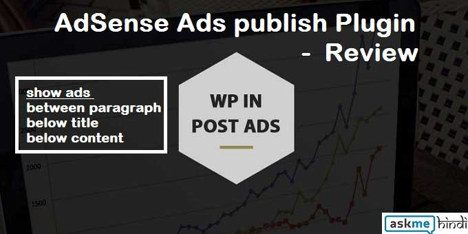 WP In Post Ads – Adsense Ads Post Me Lagaye