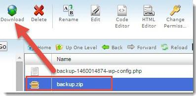 file manager backup