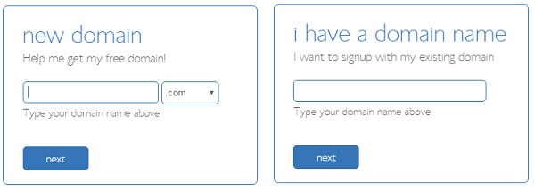 bluehost domain