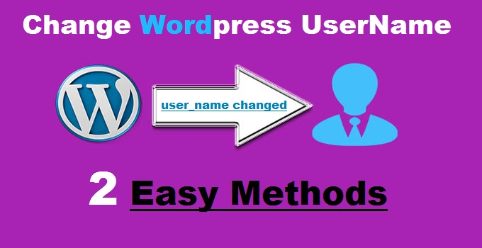 WordPress User Name Kaise Change Kare?