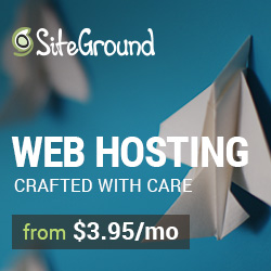 Siteground Hosting at just $3.95/month