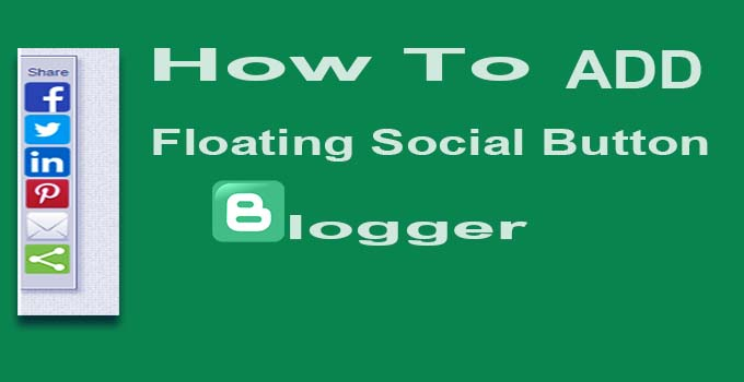 floating share add blogger