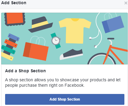 add shop facebook