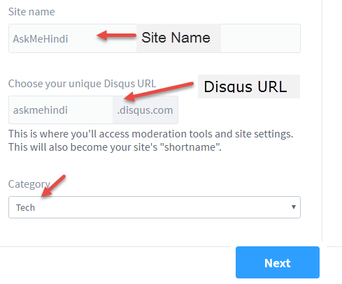disqus signup