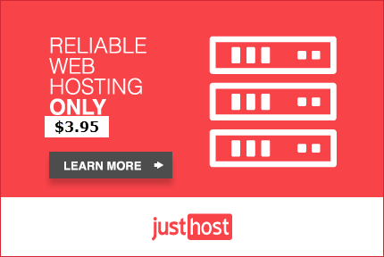 JustHost Shared Hosting offer – just $3.95/month