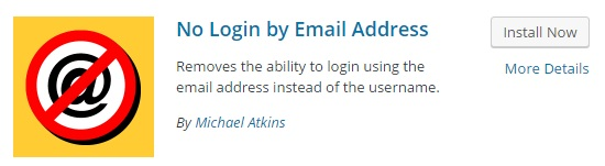 no login email address