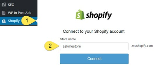 shopify connect