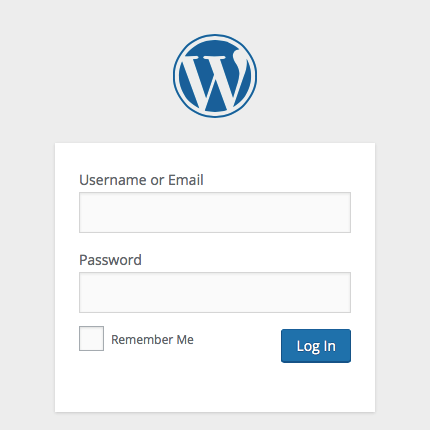 wordpress login with email