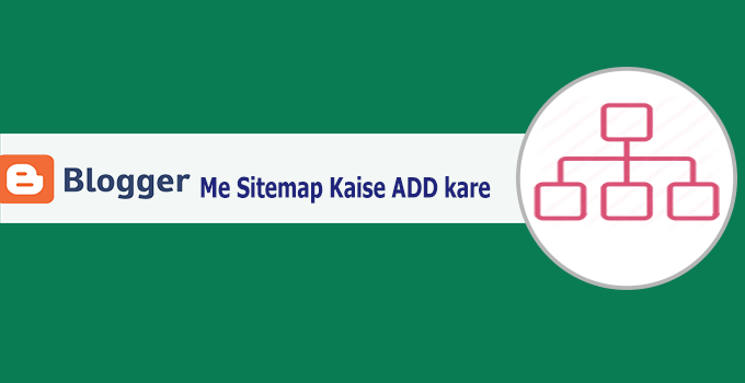 add sitemap blogger