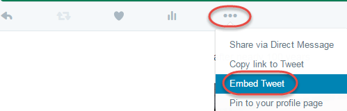 twitter more options