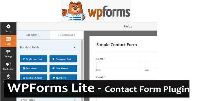 WP Forms Plugin – Create Beautiful Contact Form