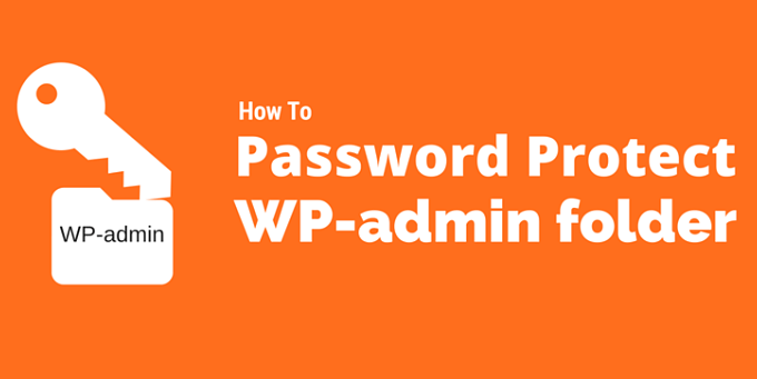 WordPress WP Admin Ko Password Protect Kaise Banaye?