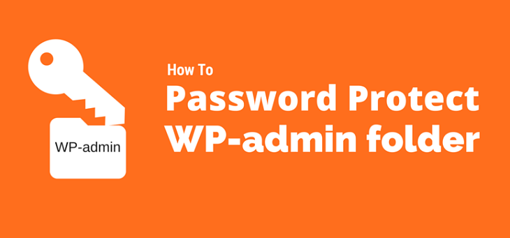 wp admin password protect