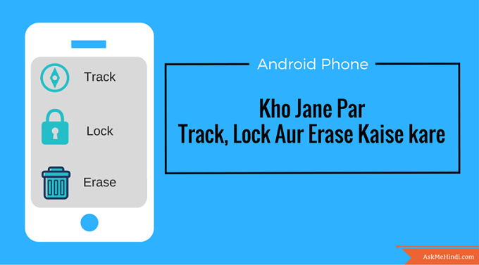 android phone track erase and lock