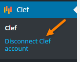 clef plugin disable