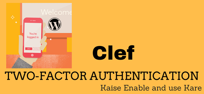 clef two factor plugin