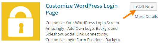wordpress customize login