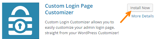 login customize plugin