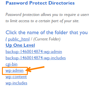 password protect wp admin