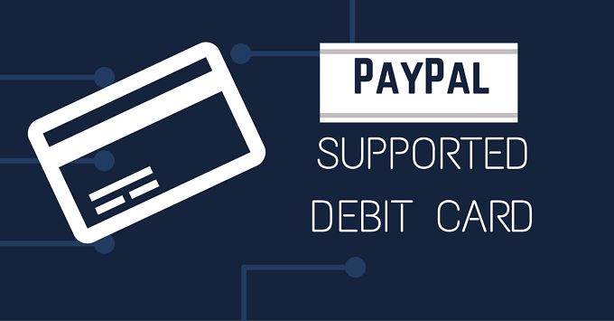 PayPal Supported Debit Card in India
