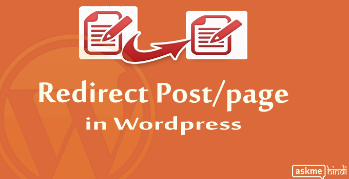 Redirect Post or Page in WordPress