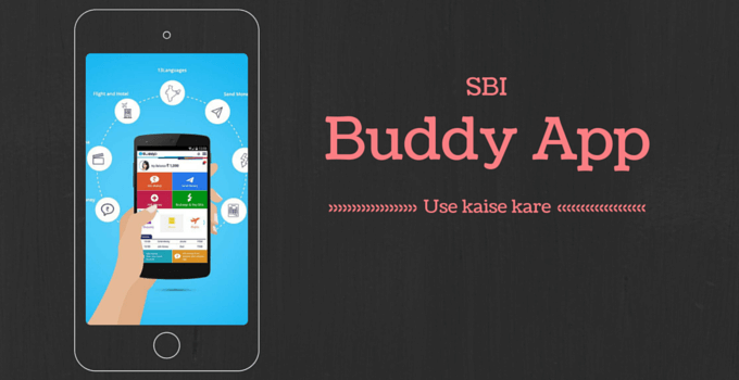 sbi buddy app use