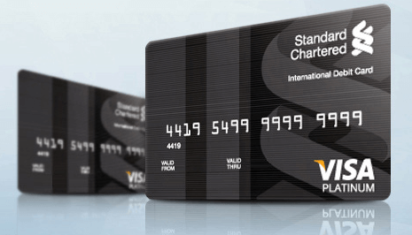 standard chartered card