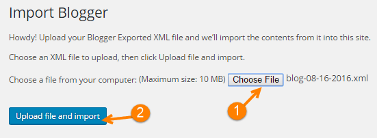 blogger import plugin