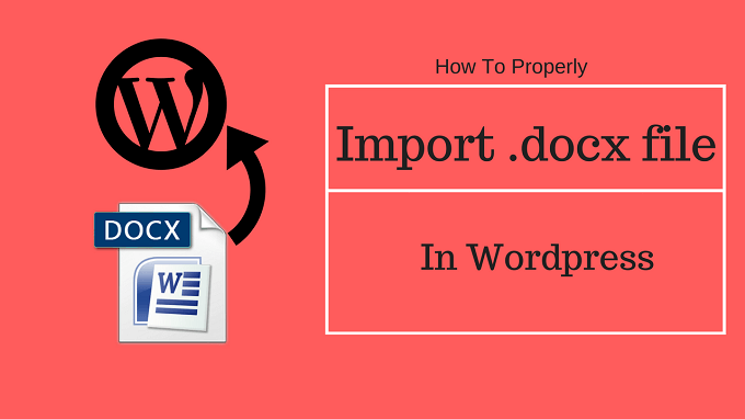 import docx wordpress