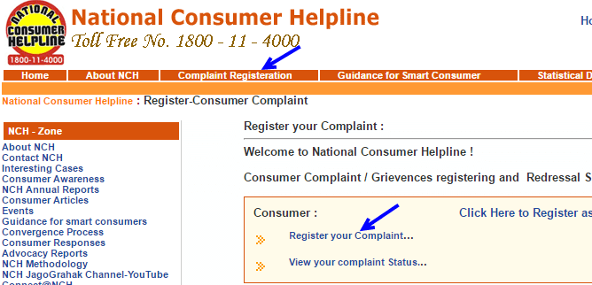 National Consumer Helpline