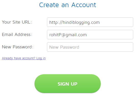 sumome signup