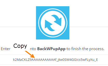 backwpup plugin setting