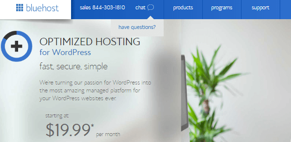 bluehost managed hosting