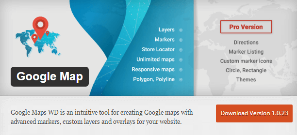 google map wd plugin