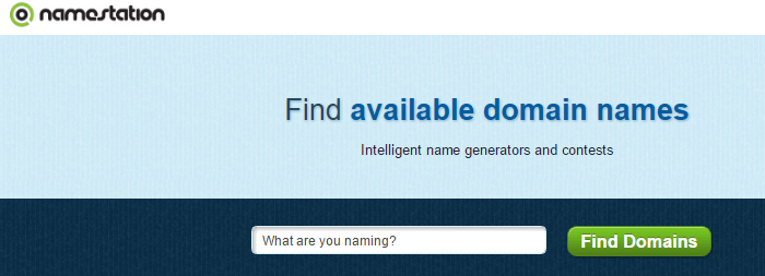 Namestation domain name generator