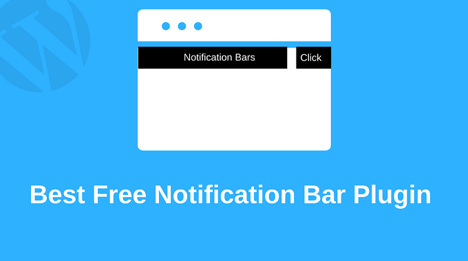 Best Free Notification Bar WordPress Plugin