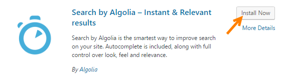 Algolia Search plugin