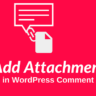 WordPress Comment Me Attach File Option Kaise Add kare?