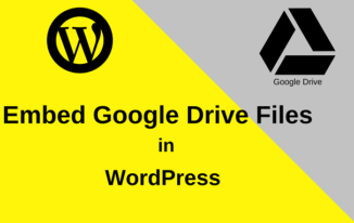 Google Drive Files Direct WordPress Post me Embed Kare