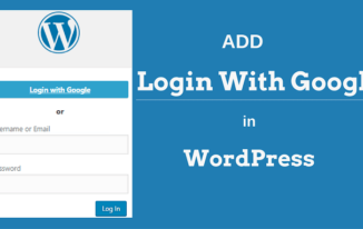 WordPress Par Login With Google Account ADD Kaise Kare