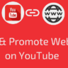 YouTube Par Website Link Kar Promote Post Promote Kare