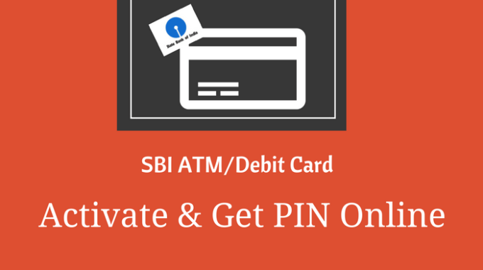 SBI ATM/Debit Card Online Activate Kaise kare