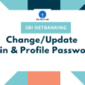 Change/Update SBI Internet Banking Login and Profile Password