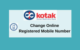 Kotak Mahindra Account Ka Mobile Number Online Change kare