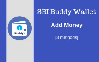 SBI Buddy Wallet Me Money Add Kaise Kare [3 methods]