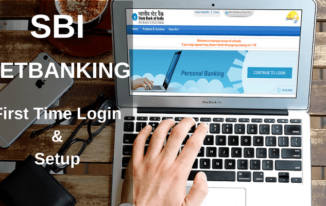SBI NetBanking Me First Time Login and Setup kaise kare?