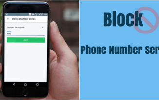 Truecaller पर Phone Number Series को Block कैसे करें?