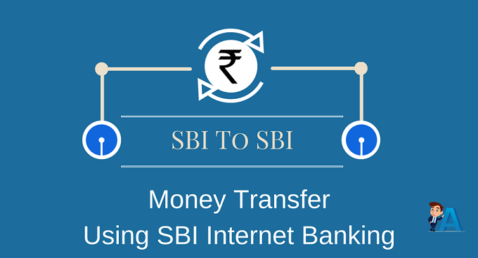 SBI To SBI Money Transfer Using Internet Banking
