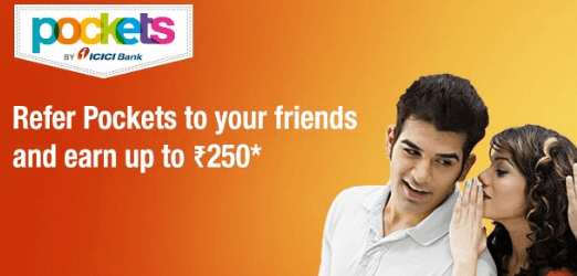 Pockets App Referral Offer – Earn Rs 250