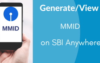 SBI Anywhere पर अपनी MMID Generate/Check करें